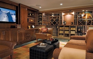 Man-cave sophistication